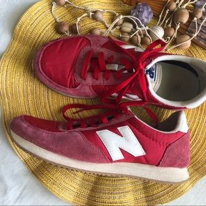 New Balance Classic Sneakers in Red